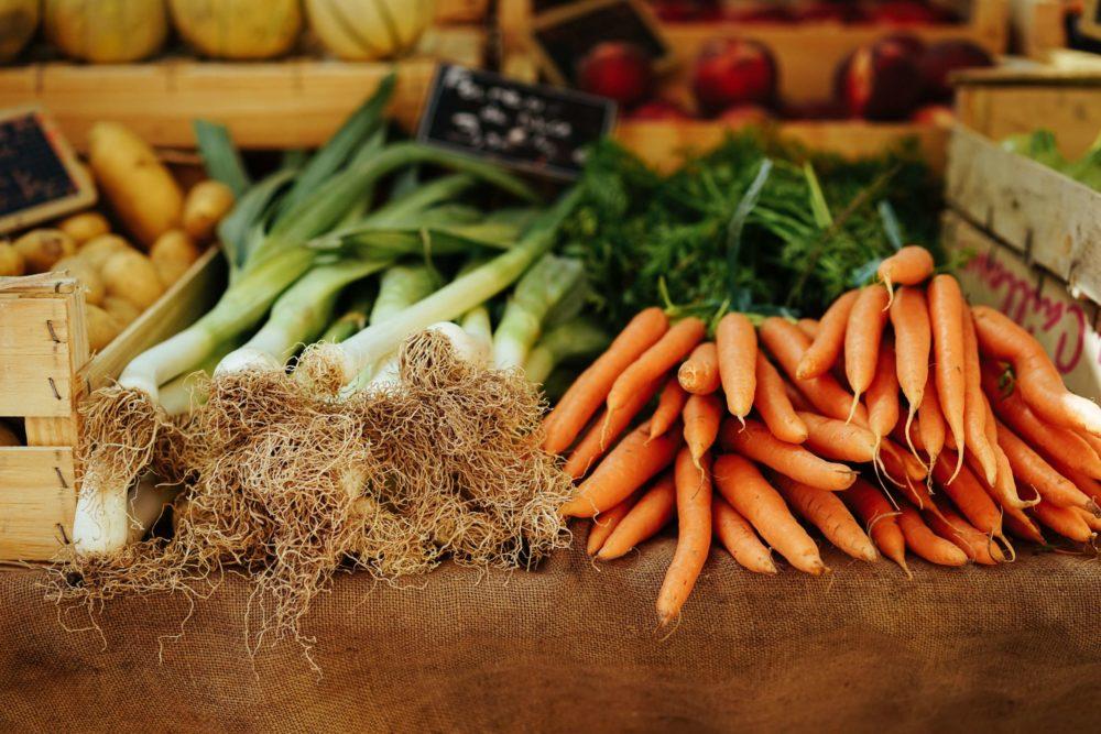 Bottes de légumes